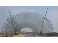 印度威凯特水泥厂石灰石库-施工中