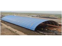 印度BHARATHI水泥厂储料仓