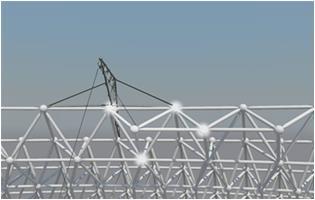 工法-超大直径钢网架穹顶结构施工方法1